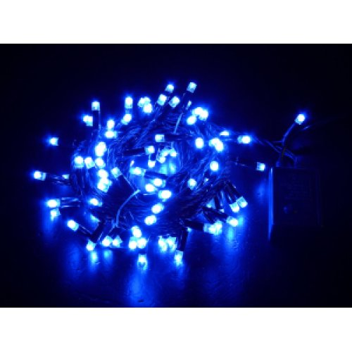 String Lights Blue : Christmas Shop Online - 50M LED String Light - Blue