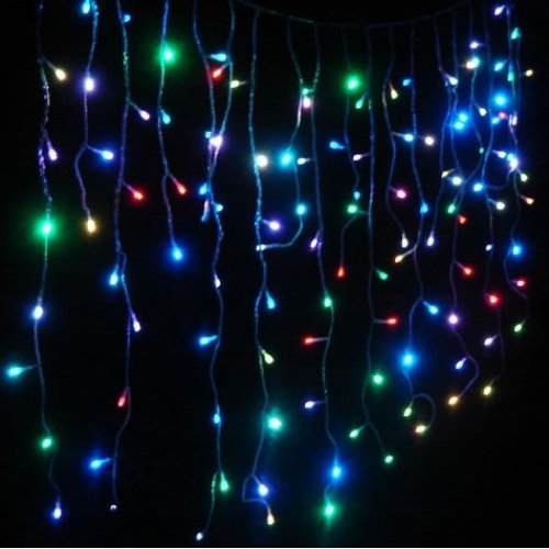 100% authentic c062a 54e5c 8.5cm Solar Icicle Lights - Multicoloured